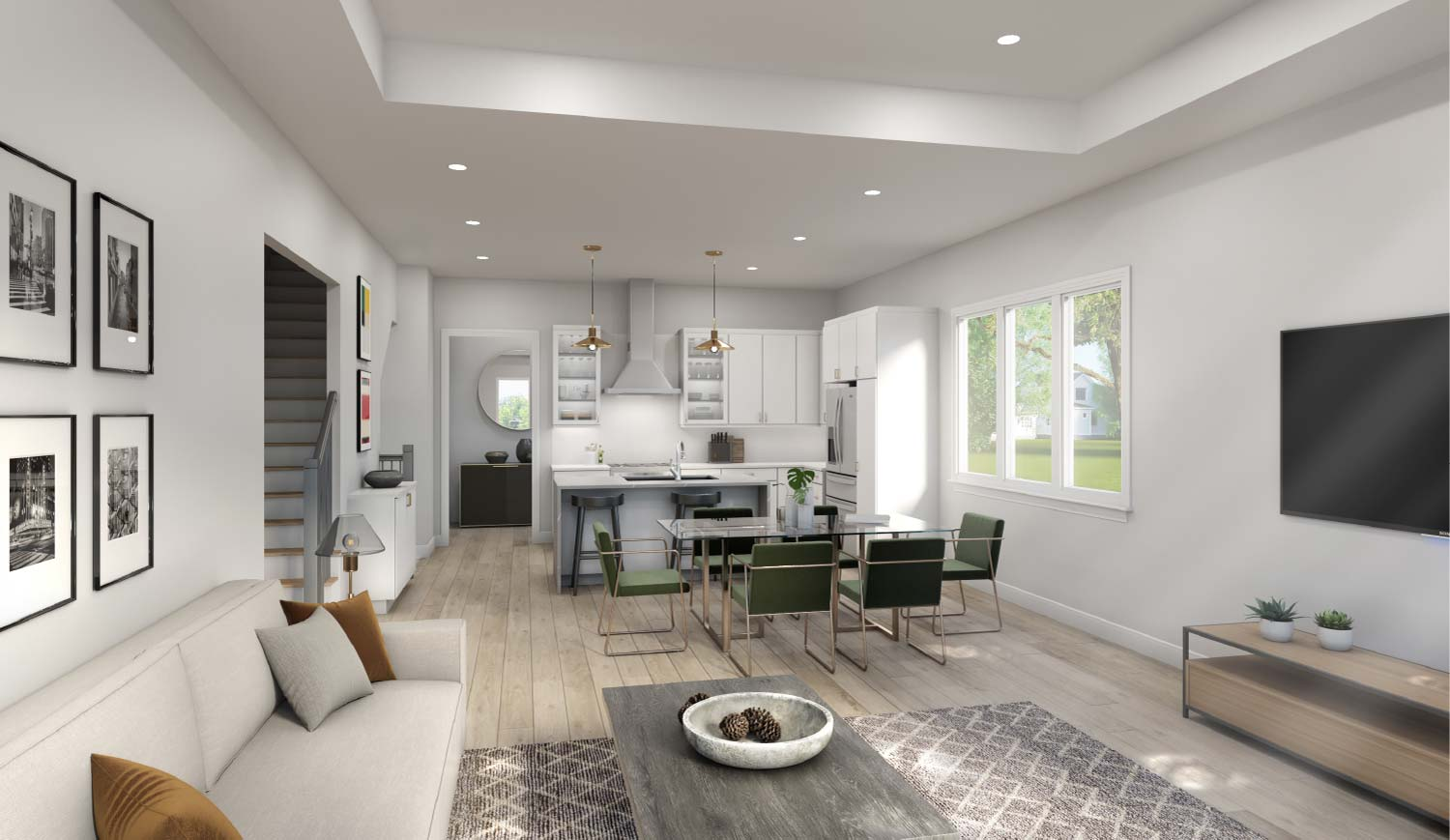 Gramercy Ridge Living Space | West Bloomfield New Construction
